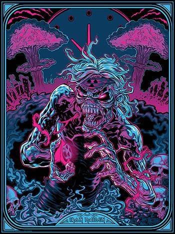 Iron Maiden Powerslave Art