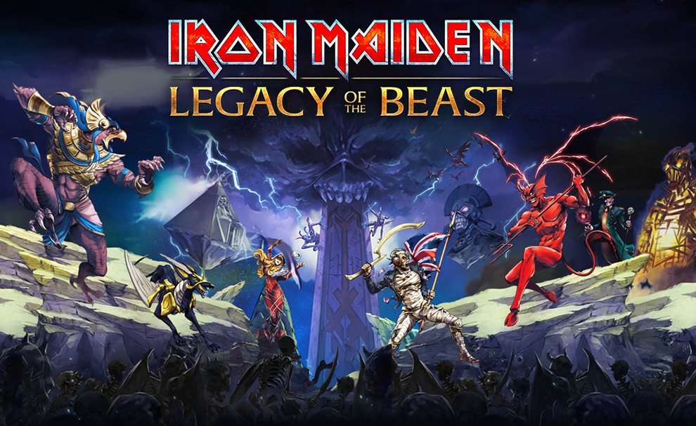 Screenshot of Iron Maiden joins the RPG world in Android this summer
