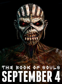 Pre-Order The Book Of Souls