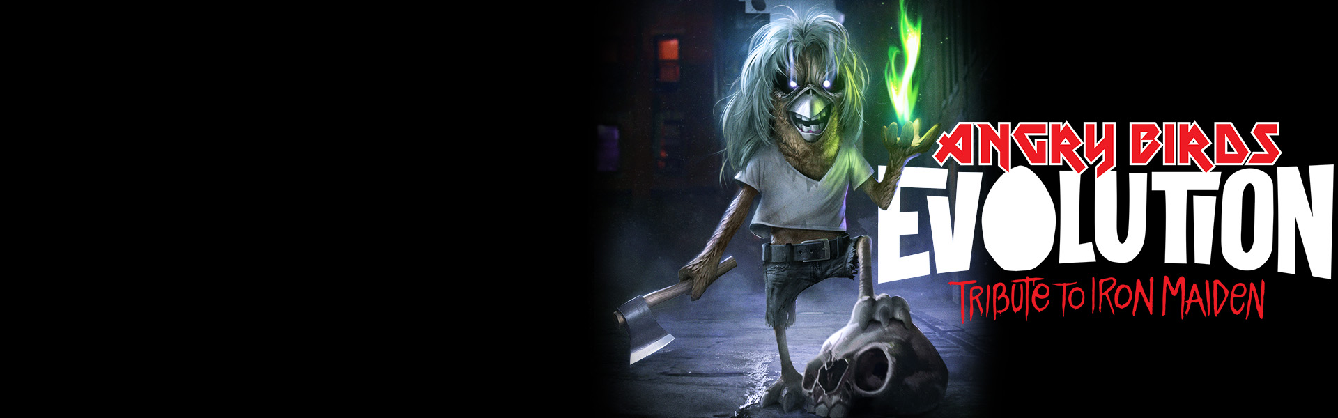 Angry Birds pay tribute to Iron Maiden