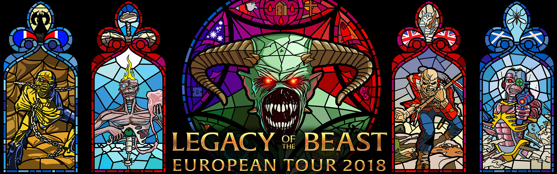 Legacy Of The Beast European Tour 2018 - ON SALE NOW