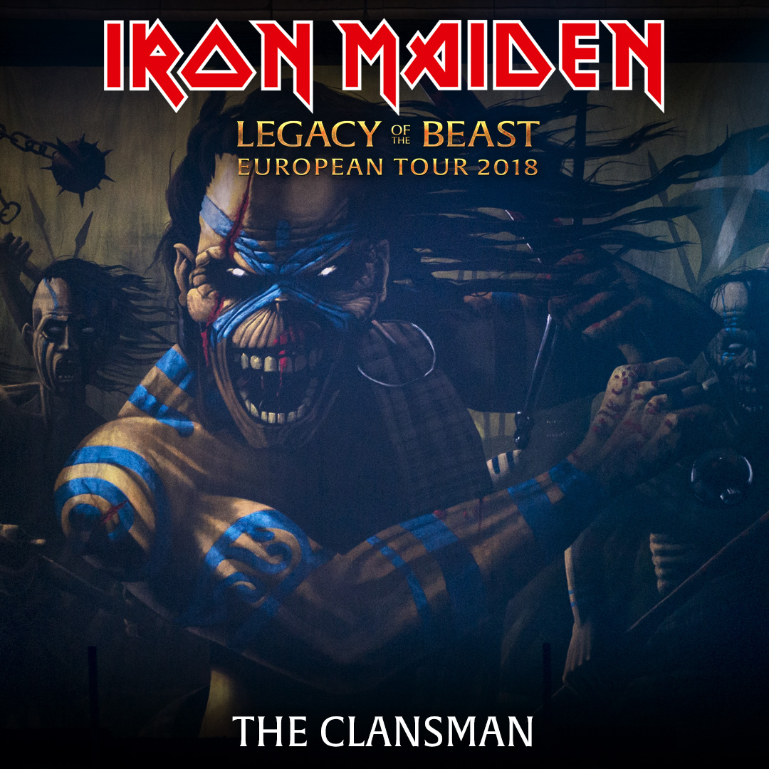 Iron Maiden Video Tour Of Official And Bootleg Merchandise Stands In Mexico City