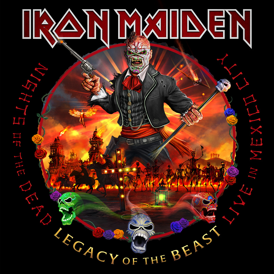 IRON MAIDEN – Nights of the Dead – Legacy of the Beast : Live in Mexico City