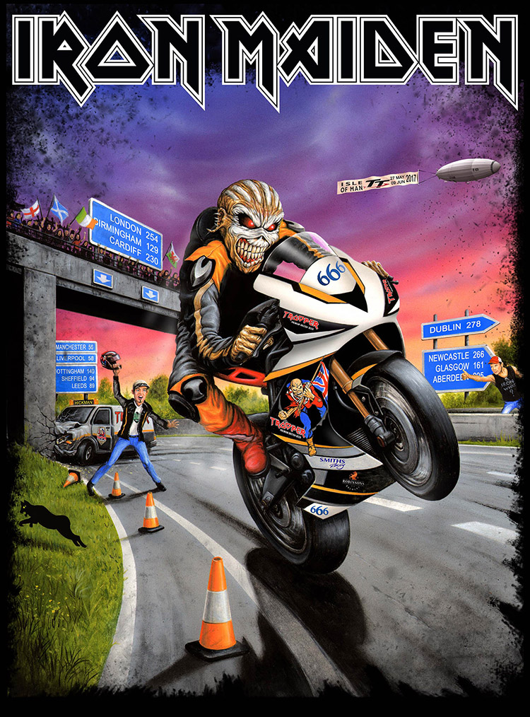 Iron Maiden From Fear To Eternity Black