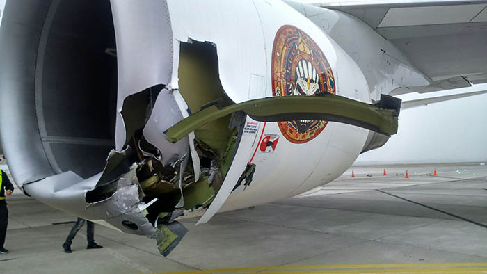 ed force one badly damaged on the ground in chile  updated