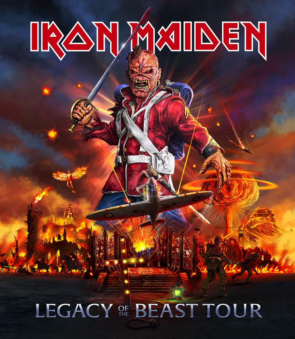 Iron Maiden Tour 2020.Legacy Of The Beast 2020 Tour Dates