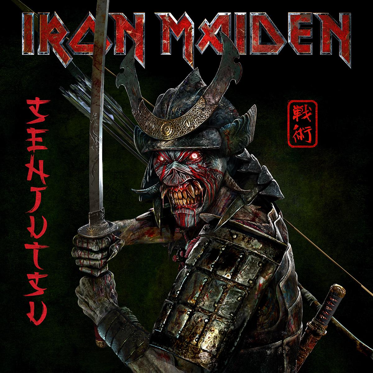 Iron Maiden acaba de divulgar informações do novo álbum Senjutsu