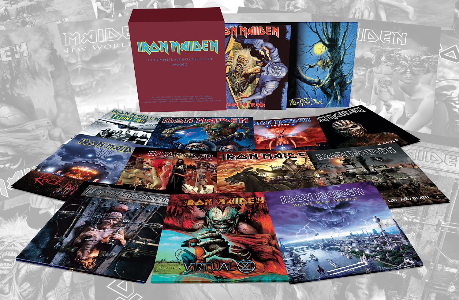 Iron Maiden The Complete Albums Collection