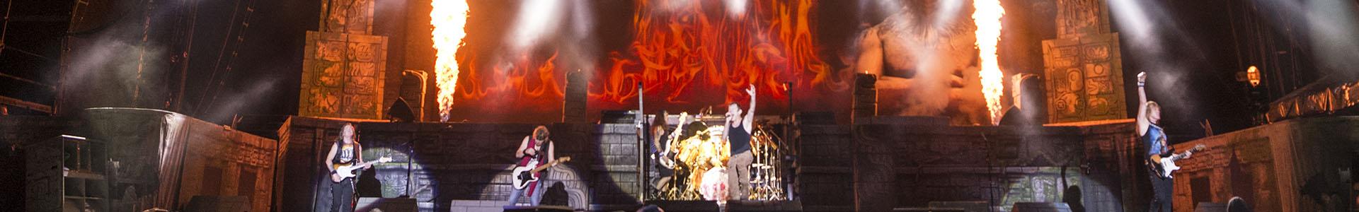 Iron Maiden live on ARTE concert