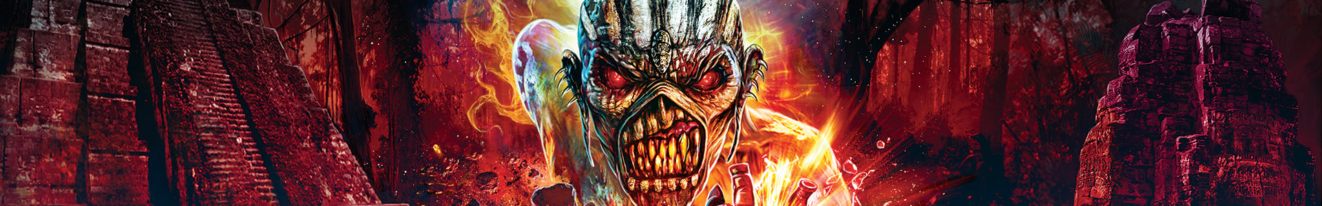 "IRON MAIDEN ""THE BOOK OF SOULS"" TOUR RETURNS TO NORTH AMERICA IN 2017!"