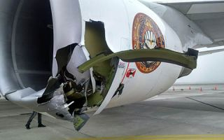 Ed Force One badly damaged on the ground in Chile (updated)