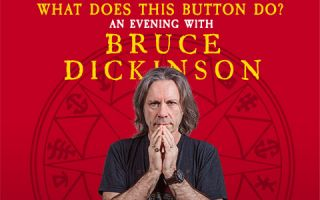An Evening With Bruce Dickinson - Rescheduled dates for 2021