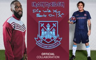 Maiden & West Ham launch new Die With Your Boots On Range