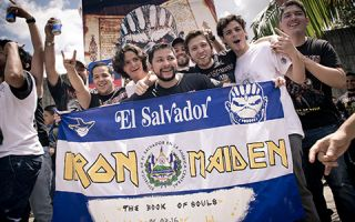 Ministry of Tourism thanks IRON MAIDEN for visiting El Salvador