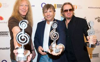 Maiden honoured at Silver Clef awards