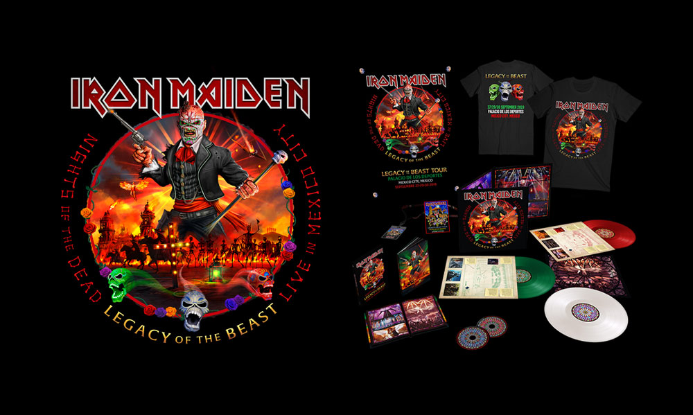 Iron Maiden - Nights Of The Dead - Legacy Of The Beast - Live In Mexico City